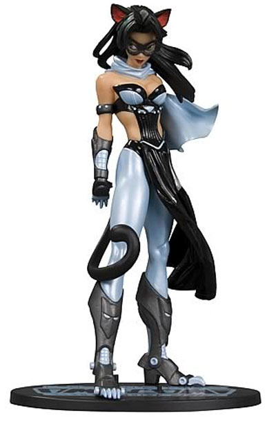 Ame Comi Heroine Series Catwoman Blue