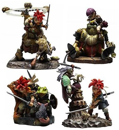 Chrono Trigger Formation Arts Box Set of 4