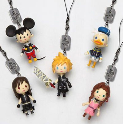Kingdom Hearts Avatar Mascot Straps