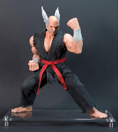 Tekken 6 Heihachi Mishima Statue