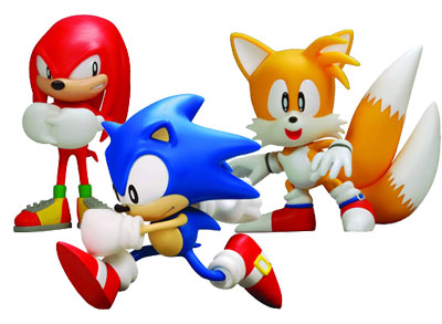 Sonic the Hedgehog 5-inch action figures Sonic Knuckles and Tails