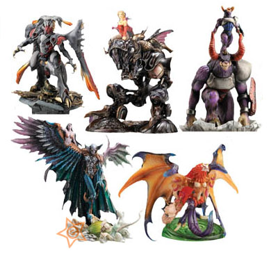 Final Fantasy Creatures Kai Vol. 1 (Set of 5)