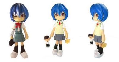 Neon Genesis Evangelion Pinky Street Rei Ayanami Figure (Version 2)