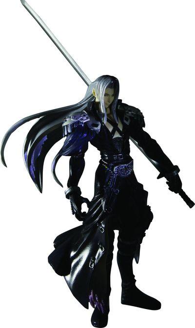 Dissidia: Final Fantasy Trading Arts Sephiroth Figure
