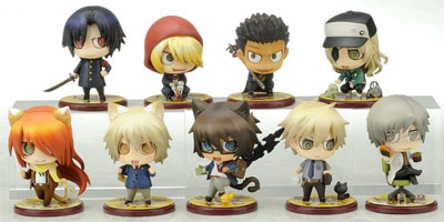 Togainu No Chi Lamento 2nd Period One Coin Mini Figure Set