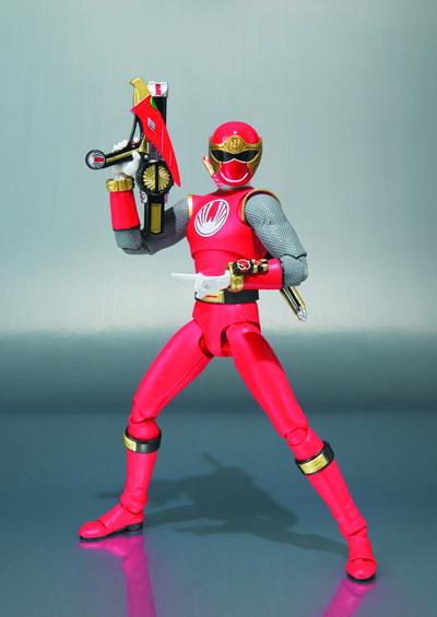 Power Rangers Ninja Storm: Red Wind Ranger S.H.Figuarts Action Figure