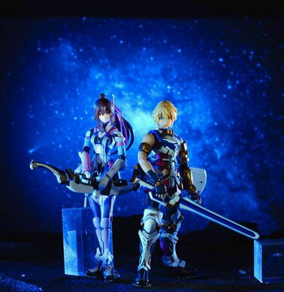 Star Ocean 4: The Last Hope Play Arts Edge and Reimi Bundle