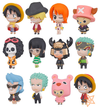 One Piece Chara Fortune Mini Figures