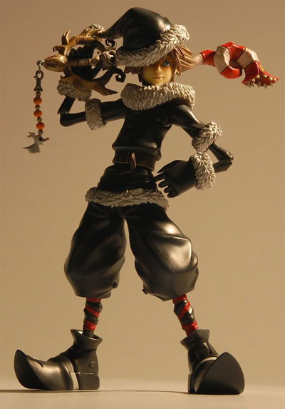 eStarland.com | Buy Kingdom Hearts 2 Play Arts Christmas Town Sora ...
