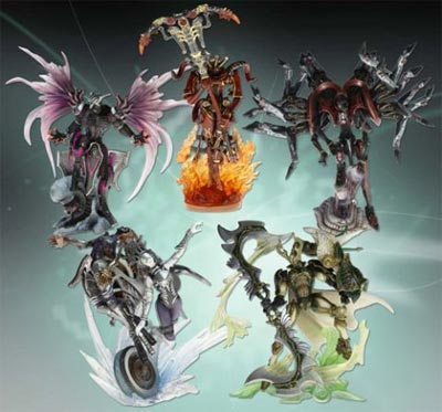 Final Fantasy Creatures Kai V3 5 Fig Set
