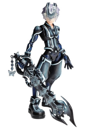 Kingdom Hearts 3D Play Arts Kai Riku Tron Version Action Figure