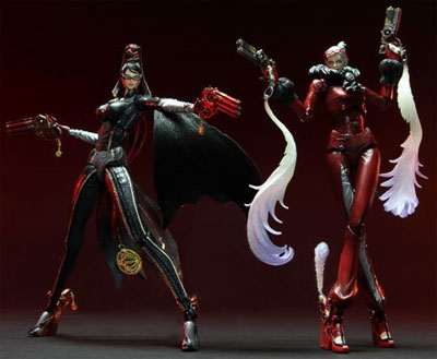 Bayonetta Play Arts Kai Action Figures
