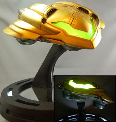 Metroid Prime 2 Echoes Gunship Statue