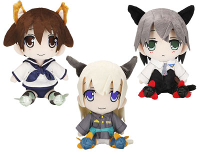 Strike Witches Plushes