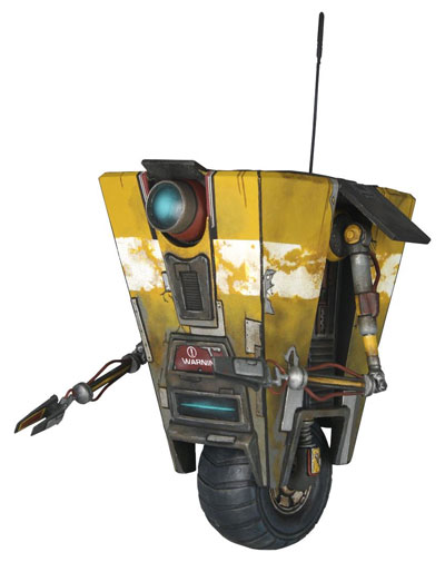 Borderlands Claptrap 4 inch Action Figure