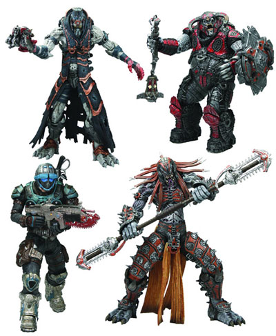 Gears of War Series 6 Action Figures