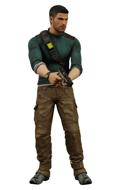 Splinter Cell: Conviction Sam Fisher 7 inch Action Figure