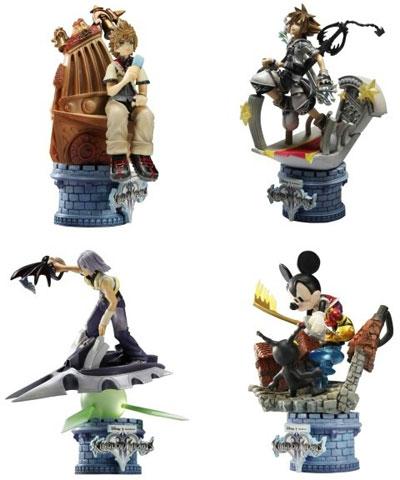 Kingdom Hearts II Formation Arts Box Set of 4
