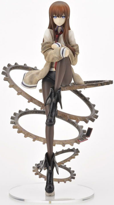 SteinsGate Kurisu Makise 1/8 Scale Ani Statue