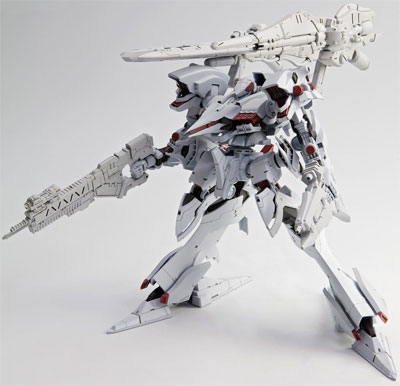 Armored Core For Answer Alicia Model Kit White Version