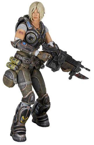 Gears of War 3 Series 1 Anya Stroud Action Figure