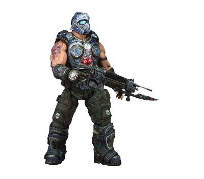 Gears of War 3 Series 1 Clayton Carmine Action Figure