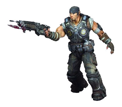 Gears of War 3 Series 1 Marcus Fenix Action Figure