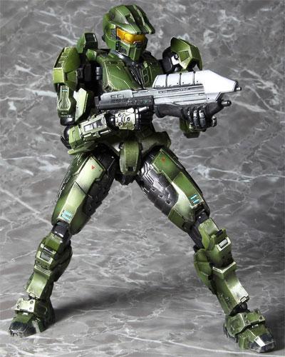 Halo Play Arts Kai Master Chief Action Figure