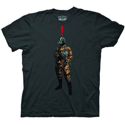 Metal Gear Solid Exclamation Charcoal T-Shirt
