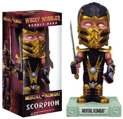Mortal Kombat Scorpion Bobblehead