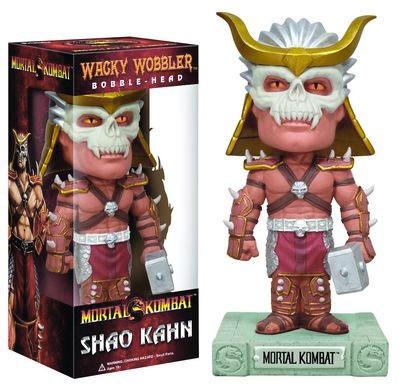 Mortal Kombat Shao Khan Bobblehead