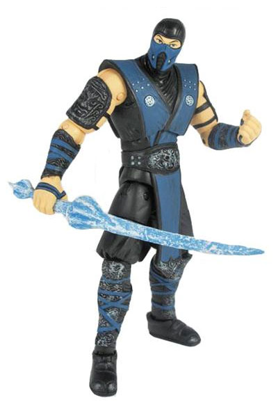 Mortal Kombat Sub-Zero 6-inch Action Figure