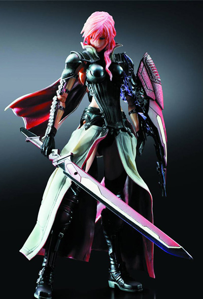 Lightning Returns: Final Fantasy XIII Play Arts Kai Lightning Action Figure