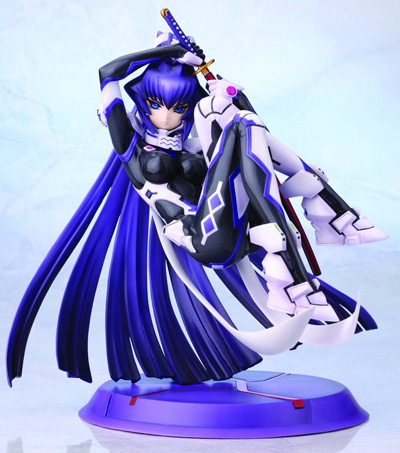 Muv-Luv Alternative Mitsurugi Meiya Ani-Statue