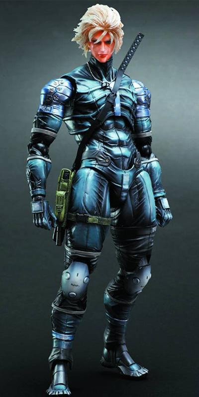 Metal Gear Solid Play Arts Kai Raiden Action Figure