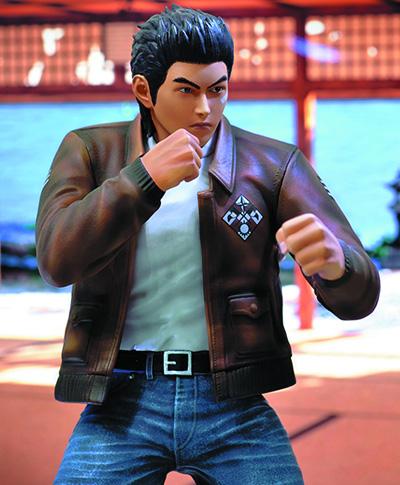 Sega All-Stars: Shenmue - Ryo Hazuki Statue