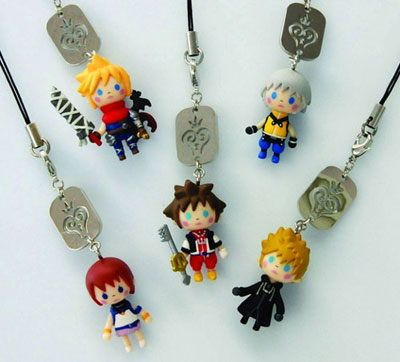 Kingdom Hearts Avatar Mascot Cloud Strap