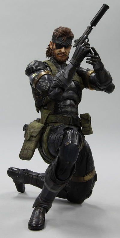 Metal Gear Solid: Peace Walker Play Arts Kai Snake Action Figure