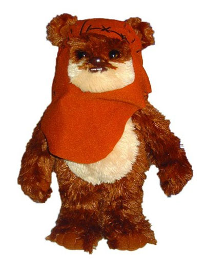 Star Wars 11 inch Talking Wicket Plush