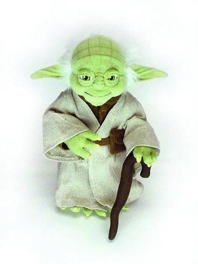 Buy Merchandise Star Wars 14 Poseable Yoda Plush Import Estarland