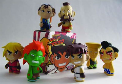 Street Fighter Mystery Mini Figure by KidRobot