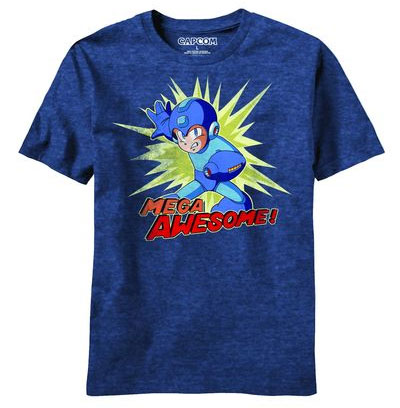 Mega Man Mega Awesome T-Shirt