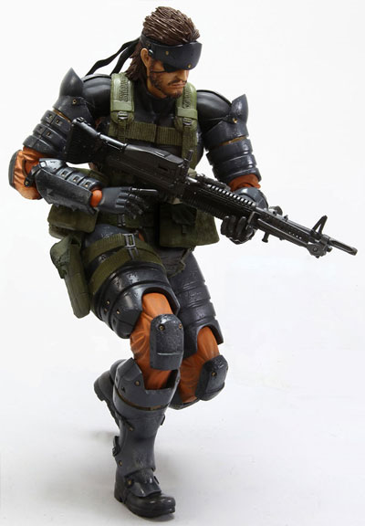 Metal Gear Solid: Peace Walker Play Arts Kai Snake Battle Dress Action Figure