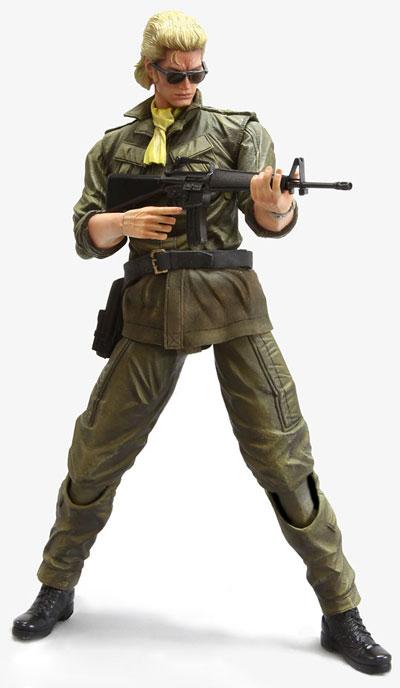 Metal Gear Solid: Peace Walker Play Arts Kai Kazuhira Miller Action Figure