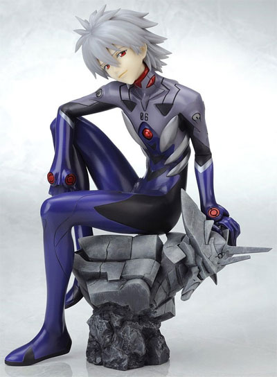 Neon Genesis Evangelion Kaworu Nagisa Plug Suit Statue