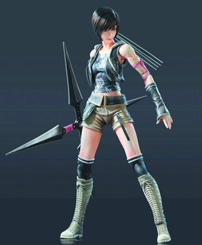 Final Fantasy VII Advent Children Play Arts Kai Yuffie Action Figure