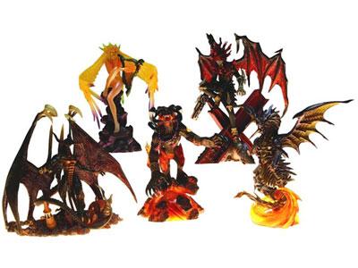 Final Fantasy Creatures Kai Vol 2 5 Figures Set