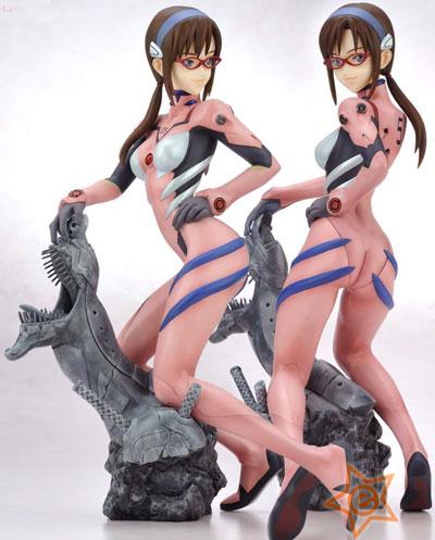 Neon Genesis Evangelion Makinami Mari Illustrious Statue