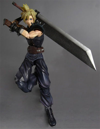Dissidia Final Fantasy Play Arts Kai Cloud Action Figure