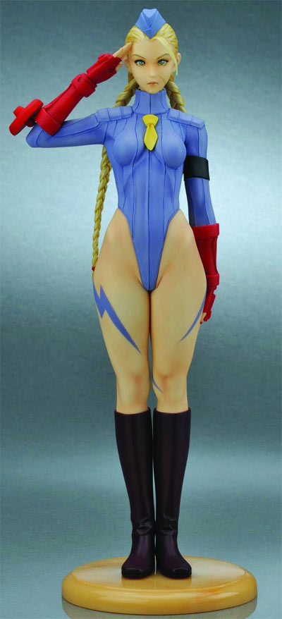 Capcom Girls Street Fighter II Cammy Figure (Blue)